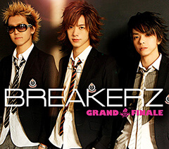 BREAKERZ「GRAND FINALE」(CDジャケット)