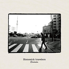 Caravan「Homesick travelers」(CDジャケット)