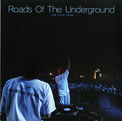 THA BLUE HERB「ROADS OF THE UNDERGROUND/智慧の輪」(アナログ盤ジャケット)